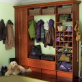 Mudroom Winter Closet