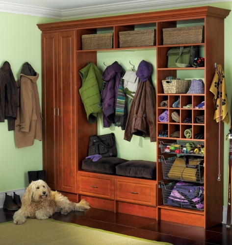 Mudroom Winter Closet Coat ...
